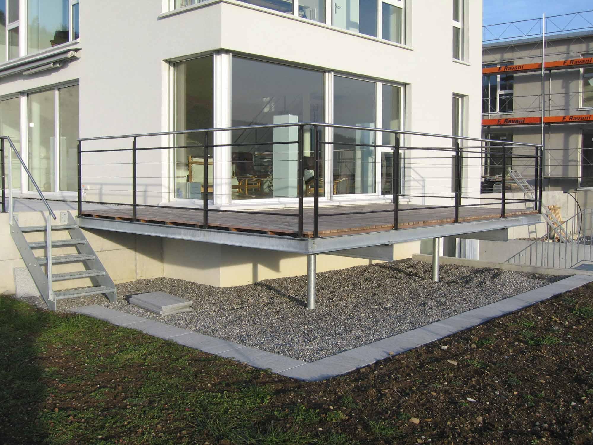 Geländer Terrasse